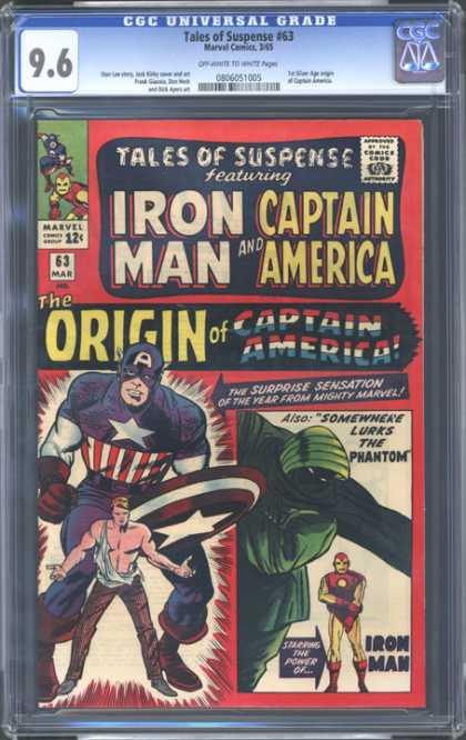 CGC Graded Comics - Tales of Suspense #63 (CGC)