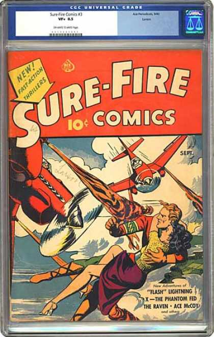 CGC Graded Comics - Sure-Fire Comics #3 (CGC)