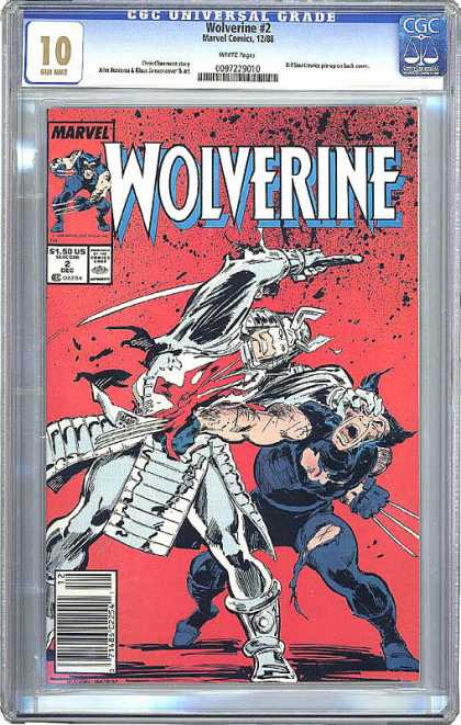 CGC Graded Comics - Wolverine #2 (CGC)