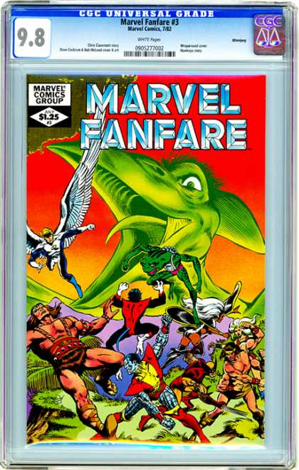 CGC Graded Comics - Marvel Fanfare #3 (CGC)