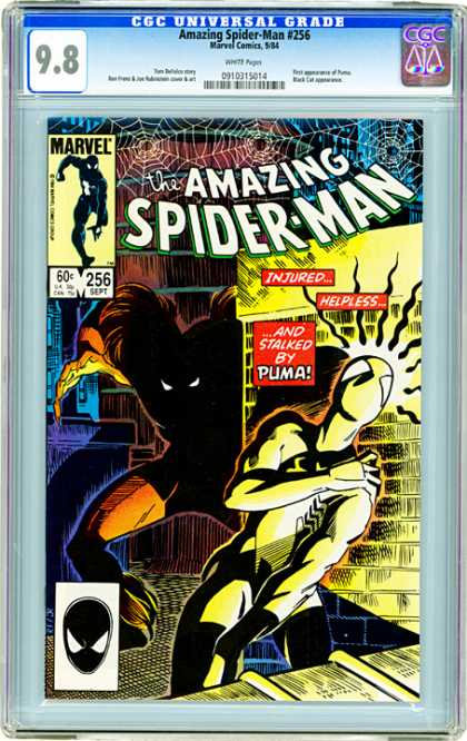 CGC Graded Comics - Amazing Spider-Man #256 (CGC)