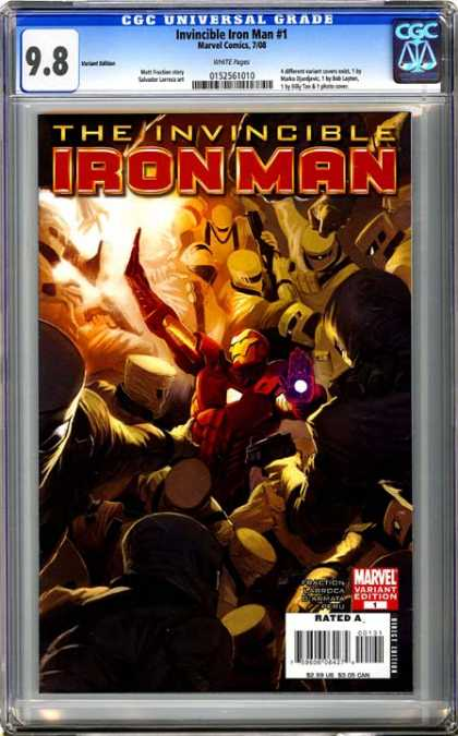 CGC Graded Comics - Invincible Iron Man #1 (CGC)