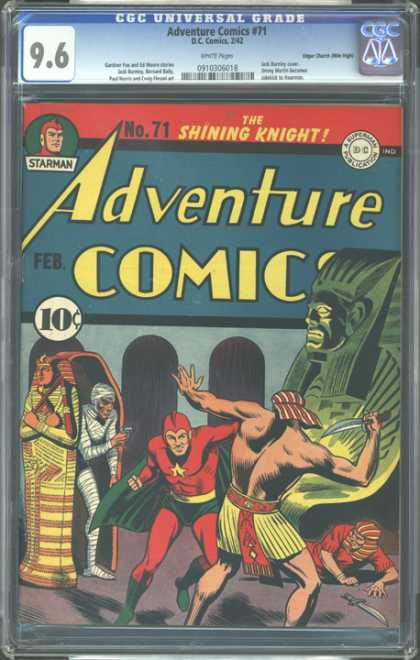 CGC Graded Comics - Adventure Comics #71 (CGC)