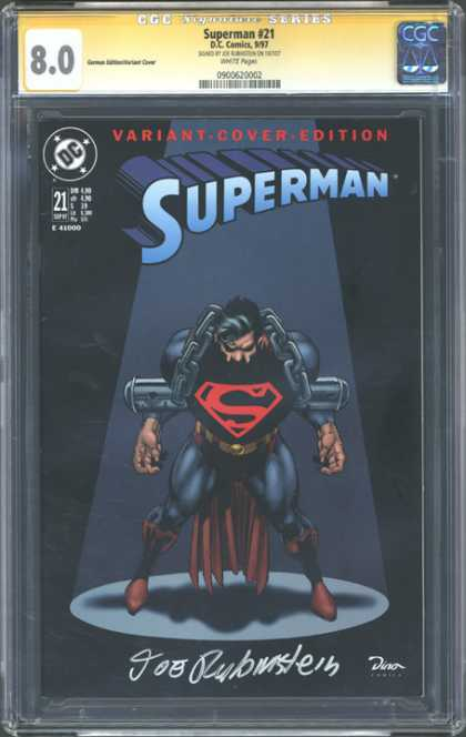 CGC Graded Comics - Superman #21 (CGC)