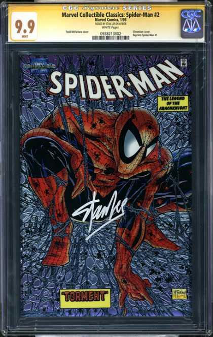 CGC Graded Comics - Marvel Collectible Classics: Spider-Man #2 (CGC)