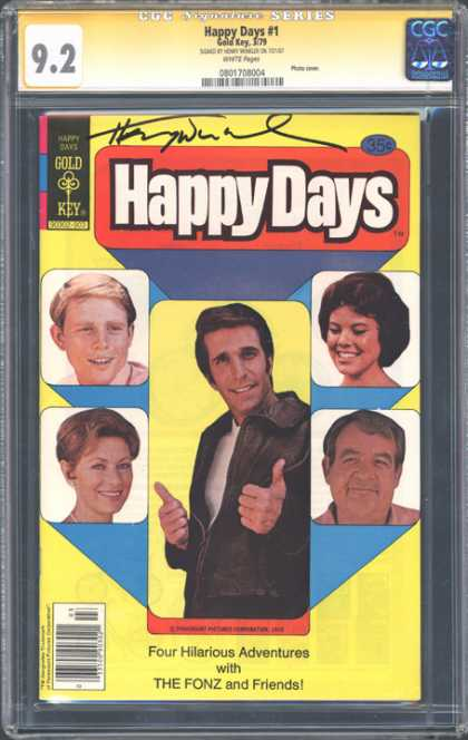 CGC Graded Comics - Happy Days #1 (CGC)