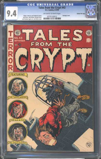 CGC Graded Comics - Tales from the Crypt #43 (CGC)