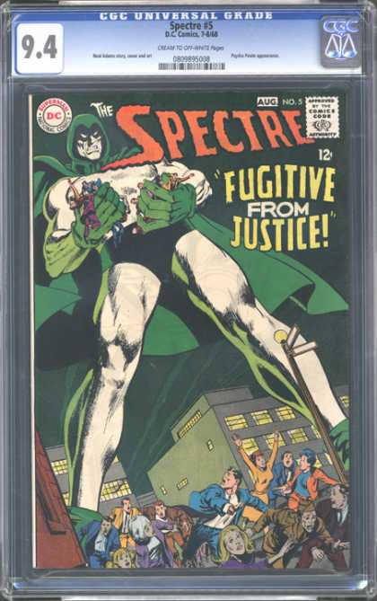 CGC Graded Comics - Spectre #5 (CGC)