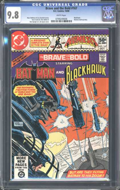 CGC Graded Comics - Brave and the Bold #167 (CGC)
