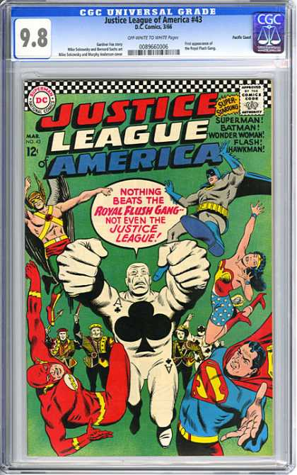 CGC Graded Comics - Justice League of America #43 (CGC)