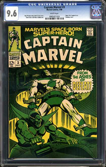 CGC Graded Comics - Captain Marvel #3 (CGC)