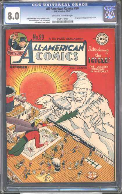 CGC Graded Comics - All-American Comics #90 (CGC)