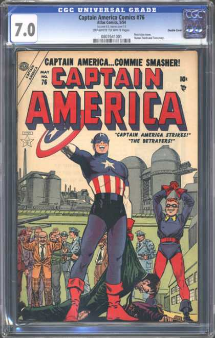 CGC Graded Comics - Captain America Comics #76 (CGC)