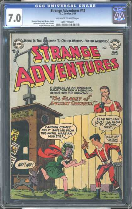 CGC Graded Comics - Strange Adventures #42 (CGC)