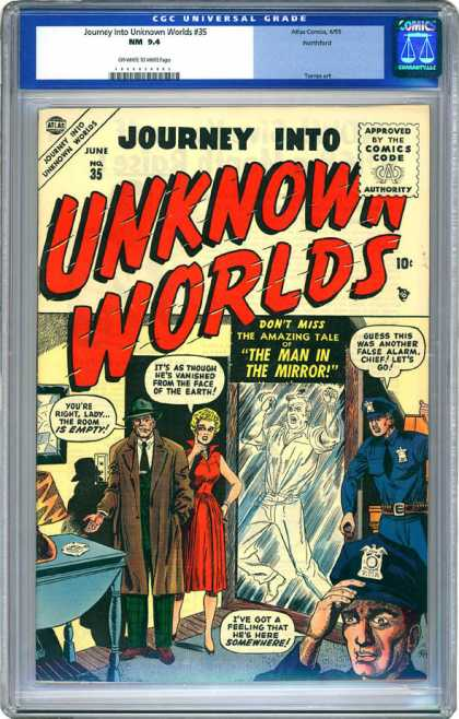 CGC Graded Comics - Journey Into Unknown Worlds #35 (CGC)