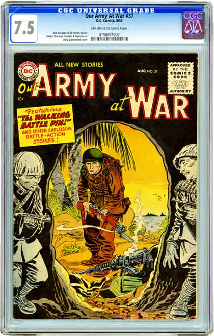 CGC Graded Comics - Our Army at War #37 (CGC)