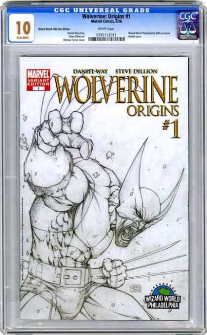 CGC Graded Comics - Wolverine: Origins #1 (CGC)