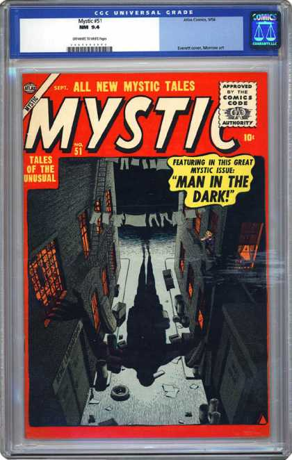 CGC Graded Comics - Mystic #51 (CGC)