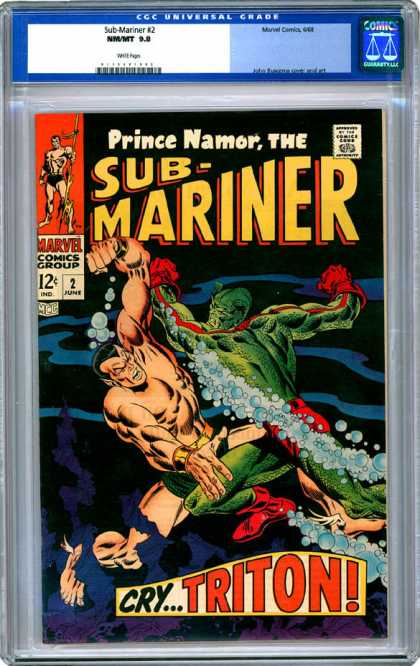 CGC Graded Comics - Sub-Mariner #2 (CGC)
