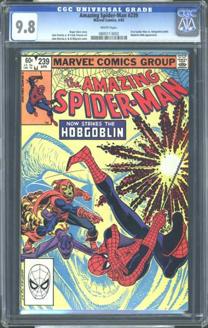 CGC Graded Comics - Amazing Spider-Man #239 (CGC)