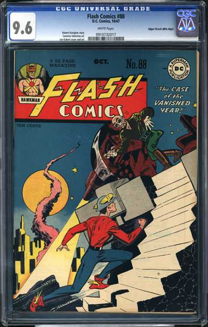 CGC Graded Comics - Flash Comics #88 (CGC)