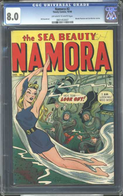 CGC Graded Comics - Namora #2 (CGC)