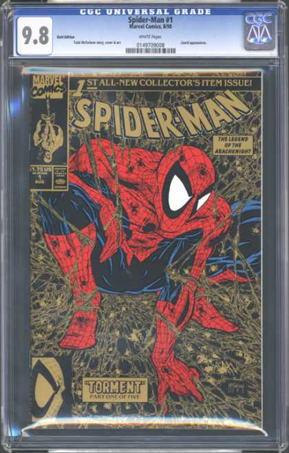 CGC Graded Comics - Spider-Man #1 (CGC) - 98 - Spider-man - Marvel Comics - Torment - 1st
