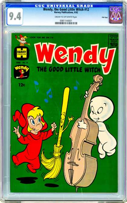CGC Graded Comics - Wendy, the Good Little Witch #12 (CGC)