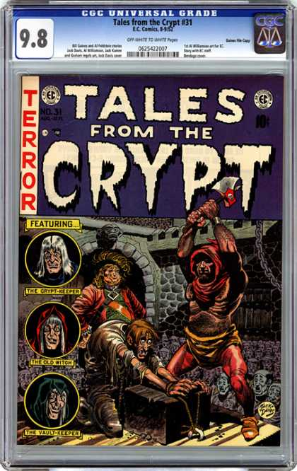 CGC Graded Comics - Tales from the Crypt #31 (CGC)