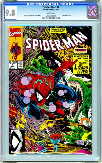 CGC Graded Comics - Spider-Man #4 (CGC)