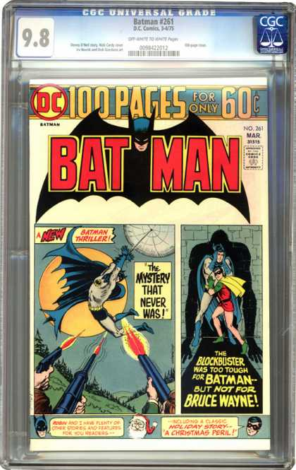 CGC Graded Comics - Batman #261 (CGC) - Vintage Batman - Batman And Robin - Dc Comics - Batman 261 - Batman Swinging