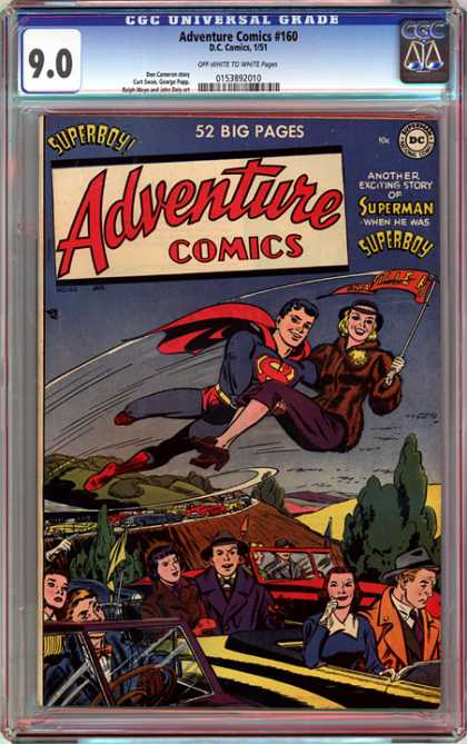 CGC Graded Comics - Adventure Comics #160 (CGC)