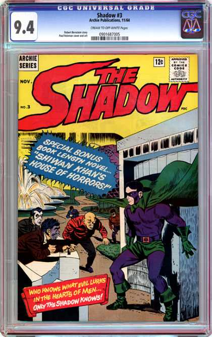 CGC Graded Comics - Shadow #3 (CGC)