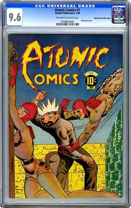 CGC Graded Comics - Atomic Comics #1 (CGC)