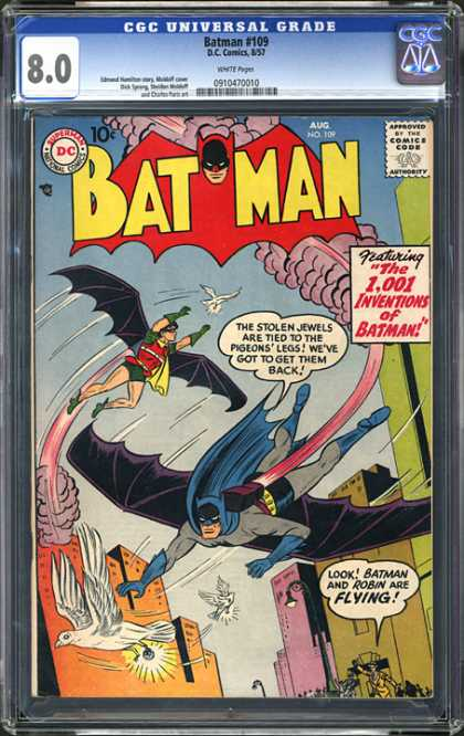 CGC Graded Comics - Batman #109 (CGC)