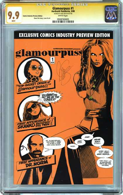CGC Graded Comics - Glamourpuss #1 (CGC)
