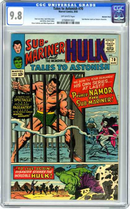 CGC Graded Comics - Tales to Astonish #70 (CGC)