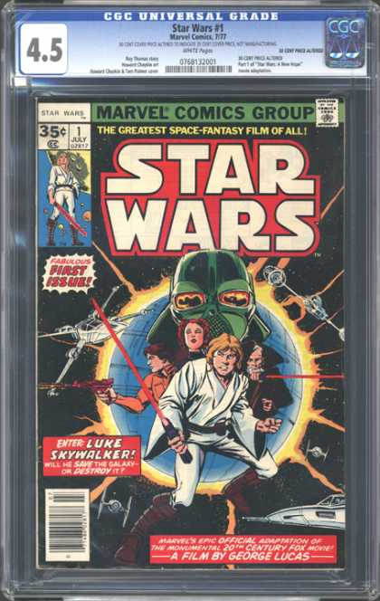 CGC Graded Comics - Star Wars #1 (CGC)