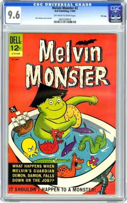 CGC Graded Comics - Melvin Monster #2 (CGC)