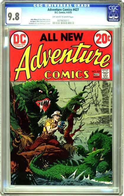 CGC Graded Comics - Adventure Comics #427 (CGC)