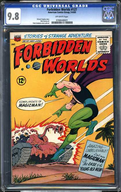 CGC Graded Comics - Forbidden Worlds #127 (CGC)