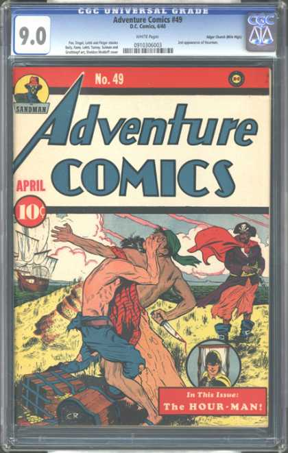CGC Graded Comics - Adventure Comics #49 (CGC)