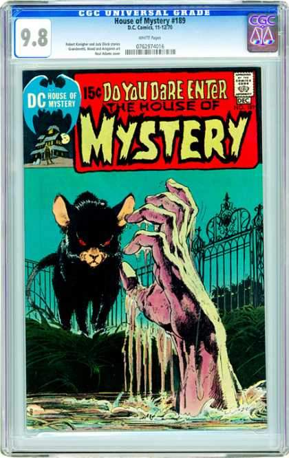 CGC Graded Comics - House of Mystery #189 (CGC)