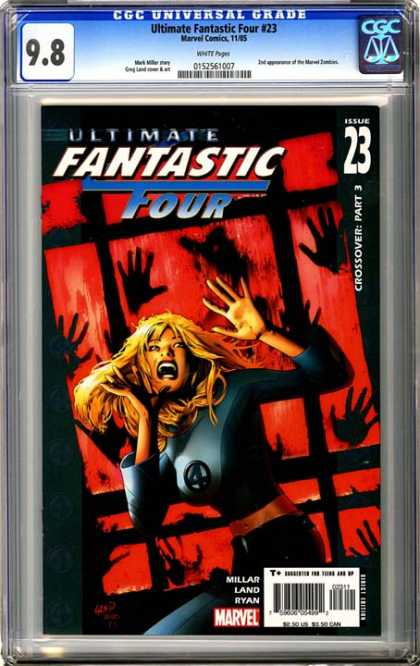CGC Graded Comics - Ultimate Fantastic Four #23 (CGC)
