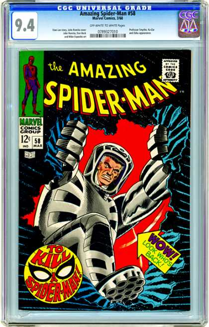 CGC Graded Comics - Amazing Spider-Man #58 (CGC)