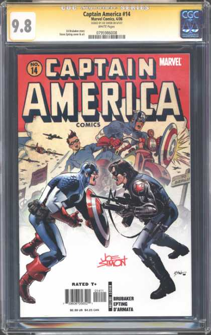 CGC Graded Comics - Captain America #14 (CGC)