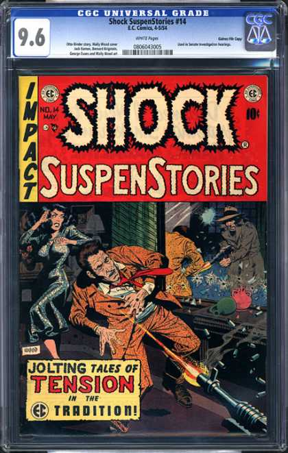 CGC Graded Comics - Shock SuspenStories #14 (CGC)