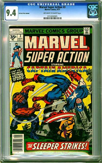 CGC Graded Comics - Marvel Super Action #3 (CGC)