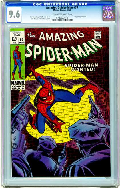 CGC Graded Comics - Amazing Spider-Man #70 (CGC)