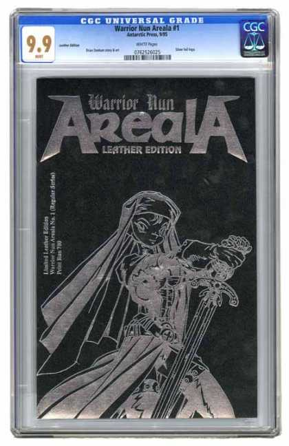 CGC Graded Comics - Warrior Nun Areala #1 (CGC)